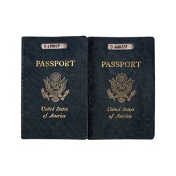 The Sheltering Sky Kit (Debra Winger) Port (John Malkovich) Passport Props