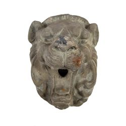 Addams Family Values Ceramic Lion Head Prop