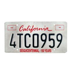 X-Men Origins California License Plate Prop