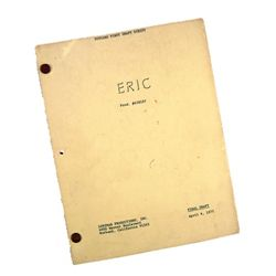 Eric First Draft Production Teleplay