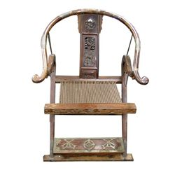 Pirates Of The Caribbean At World's End Sao Feng Ceremonial Chair Movie Props