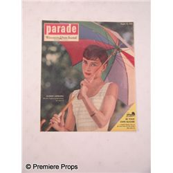 Parade Wisconsin State Journal Audrey Hepburn Poster Movie Props
