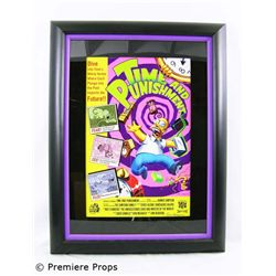 The Simpsons Signed Framed Giclee