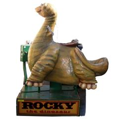 Rocky the Dinosaur Coin Operated Ride