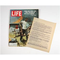 Big Eyes 'Life Magazine' Movie Props