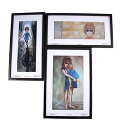 Big Eyes Walter Keane (Christoph Waltz) Lithographs Movie Props