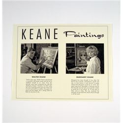Big Eyes Keane Paitnings Brochure Movie Props