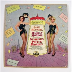 Marilyn Monroe and Jane Russell Gentlemen Prefer Blondes MGM LP