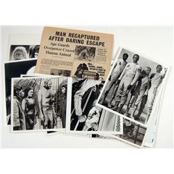 Planet of the Apes Press Kit and Newspaper Movie Props