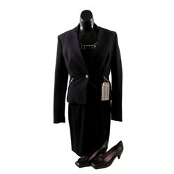 Mortdecai Receptionist (Camilla Marie Beeput) Movie Costumes