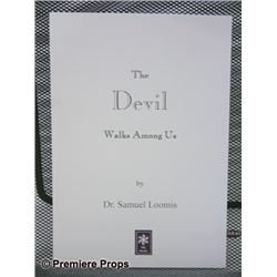 Halloween 2 The Devil Walks Among Us Book Movie Props