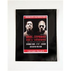Southpaw Caesars Palace Media Folder Movie Props