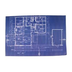 Falling Skies Tom Mason (Noah Wyle) Family Residence Blueprint Movie Props