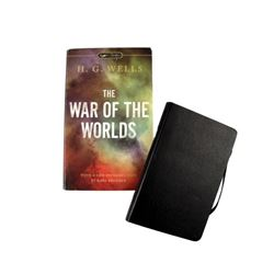 "Falling Skies Matt Mason (Maxim Knight) Journal & ""War of the Worlds"" Book Movie Props"