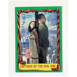 Karen Allen Signed Indiana Jones Trading Card