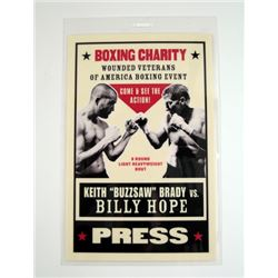 Southpaw Boxing Charity Pass Movie Props