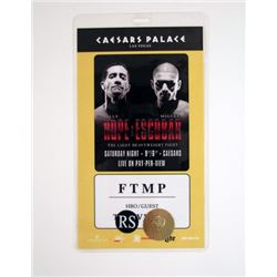 Southpaw Caesars Palace Pass Movie Props