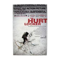 Jeremy Renner Signed Hurt Locker Poster