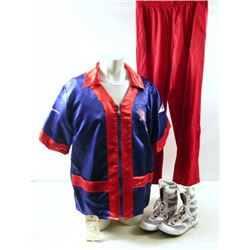 Southpaw Darius Cornerman #1 (Shadeed Suluki) Movie Costumes