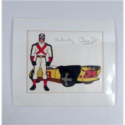 Speed Racer Autographed  Animation Cel