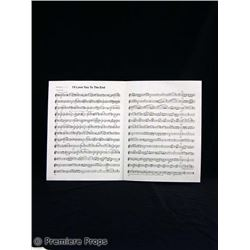 P.S. I Love You Sheet Music Movie Props