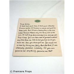 P.S. I Love You Dear Holly Letter Movie Props