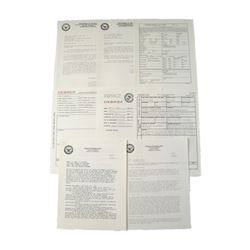 Man Down Navy Paperwork Movie Props