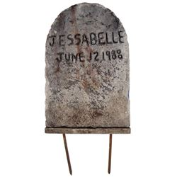 Jessabelle Tombstone Movie Props