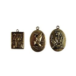 The Mummy Egyptian Pendants Movie Props
