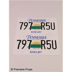 The Blind Side License Plates Movie Props