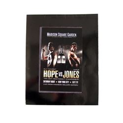 Southpaw Hope vs. Jones Score Card Movie Props