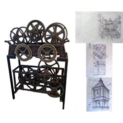 Kate & Leopold Clock Mechanics, Pencil Sketches, and Storyboards