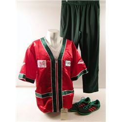 Southpaw Turay Cornerman (Carmen Gangale) Movie Costumes