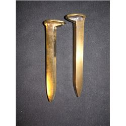 Railroad Spikes from Shanghai Noon