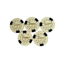 Casino Tangier's $1 Casino Chips Movie Props