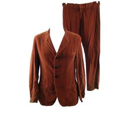 Ceremony (2010) - Sam Davis (Michael Angarano) Distressed Suit Movie Costumes