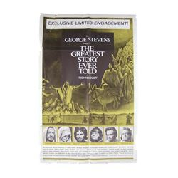 The Greatest Story Ever Told (1965) Folded Poster Movie ...