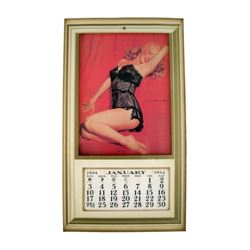 Marilyn Monroe 1954 Golden Dreams Calendar