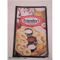 Seeking a Friend for the End of the World Friendsy's Menus Movie Props