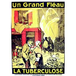 Le grand fleau : la Turberculose  F. GALAIS Commission americaine de preservation contre la turbe...