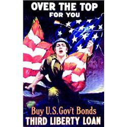 Over the top for you  RIESENBERG M. Buy U.S Gov't Bonds third Liberty Loan     Ketterlinus   Phil...
