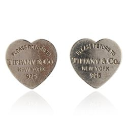 Tiffany & Co Heart Shaped Earrings GB3099