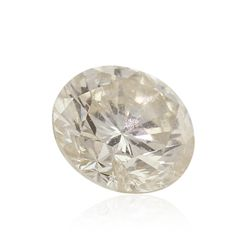 GIA Certified 0.42ct I-2/L Round Cut Loose Diamond GB4248