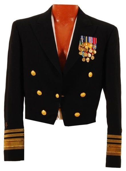 Us Navy Vice Admiral Glynn R Donaho Dress Uniform