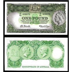 Commonwealth of Australia, Reserve Bank 1960-61 ND Issue.
