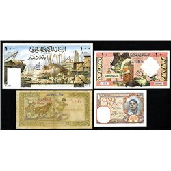 Bank of Algeria, 1903-12 Issue; 1959 Issue; Banque d' Algerie, 1964 Issue