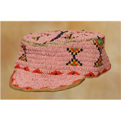 Sioux Beaded Cap