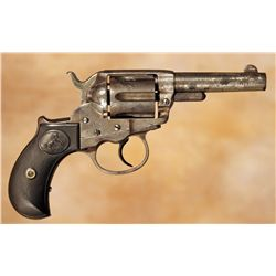 Colt Model 1877 Lightning Revolver with Holster