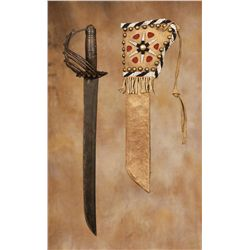 Spanish Cavalry Sabre with Sheath