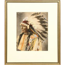 Frank Rinehart, hand colored photograph